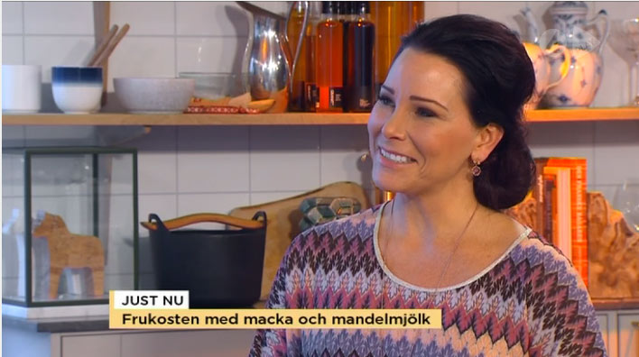 Åse Falkman Fredriksson i TV4 Nyhetsmorgon
