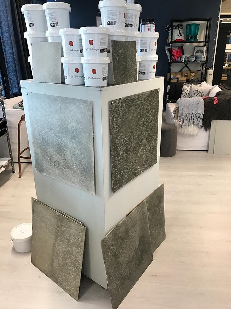 färg som ser ut som betong