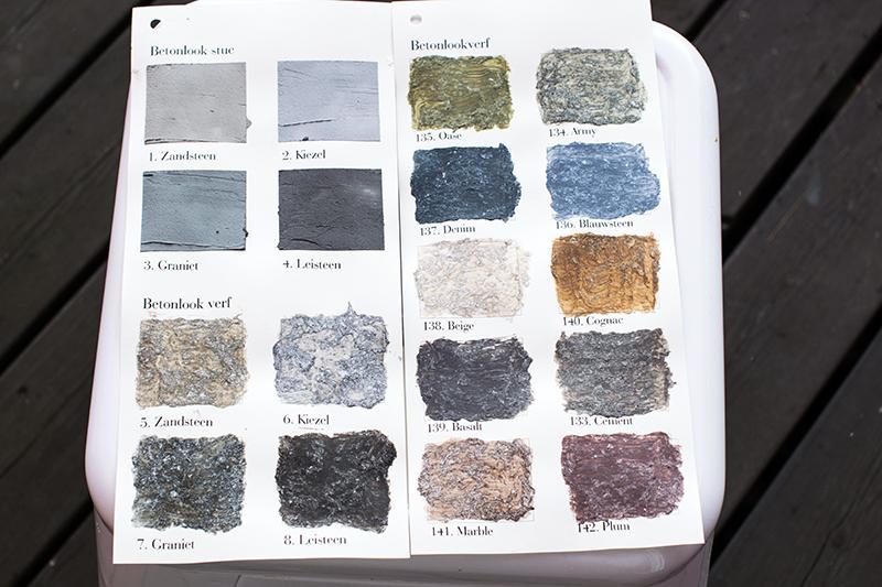 färg till betongvägg