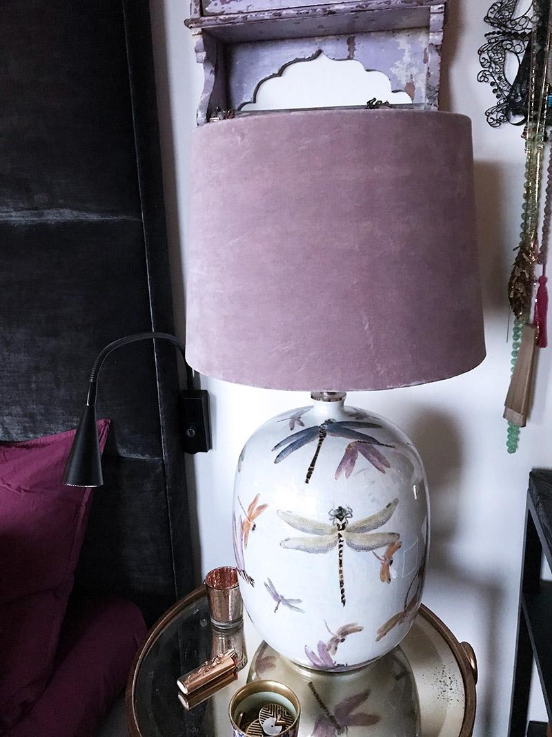 Lampskärmen i rosa sammet storlek Large från Olsson   Jensen e8fcdf8be6baf